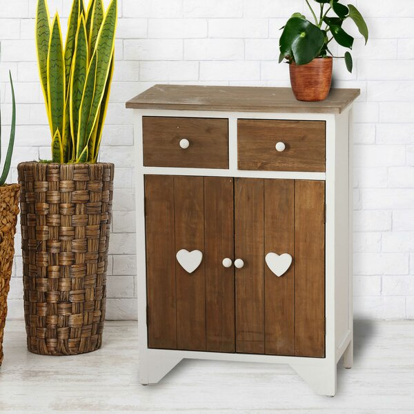 Westfall 2 Drawer Nightstand by August Grove