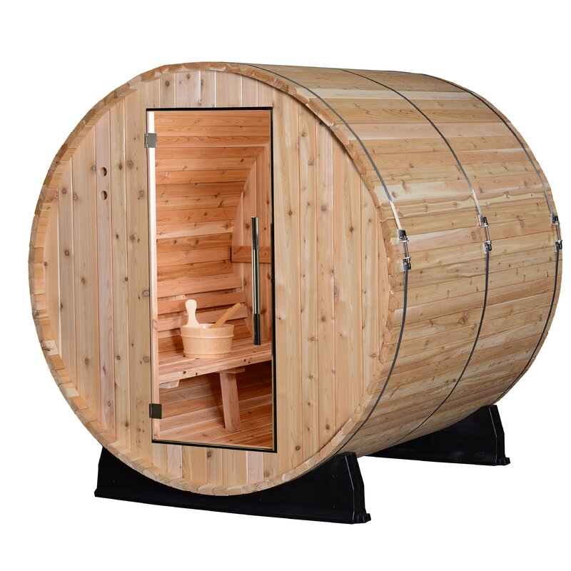 Outdoor Sauna-Pinnacle 4 Person Traditional Steam Sauna