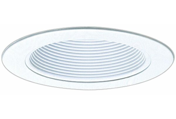 Phenolic Metal Baffle 4 Recessed Trim by Elco Lighting