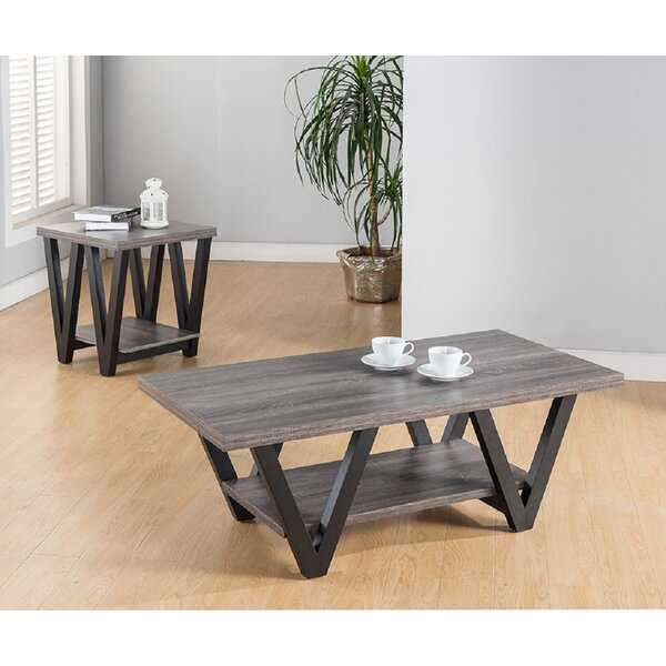 Schreiber 2 Piece Coffee Table Set by Union Rustic Union Rustic