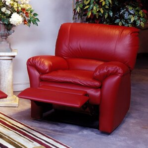 Luxor Leather Recliner by Omnia Leather