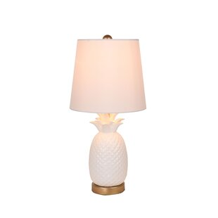 Broyhill pineapple lamp wayfair pineapple 185 table lamp mozeypictures Image collections