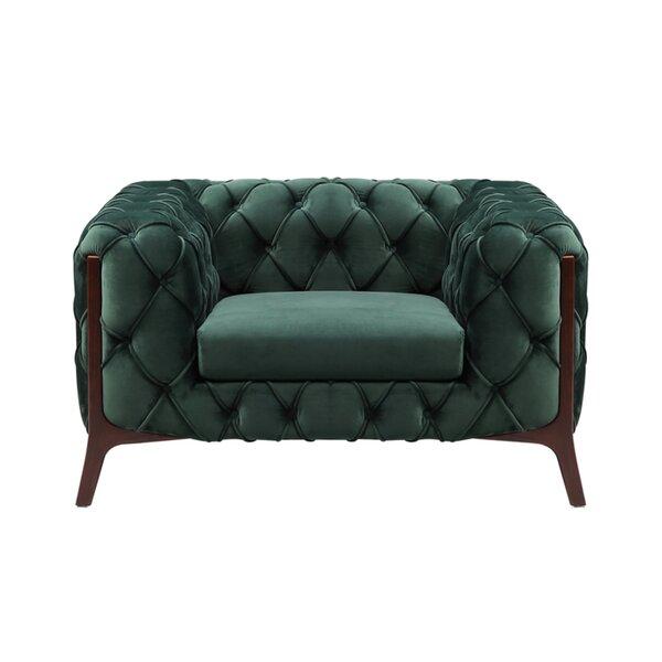 Caviness 45-inch Club Chair by Everly Quinn Everly Quinn