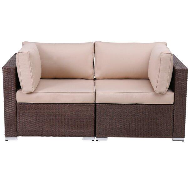 Sumeyya Loveseat With Cushions (Set Of 2) By Latitude Run