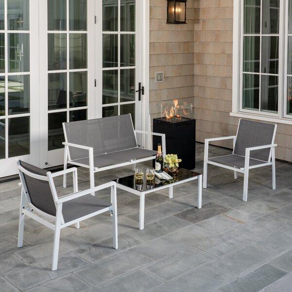 Cerqueira Patio 5 Piece Sofa Seating Group by Latitude Run Latitude Run