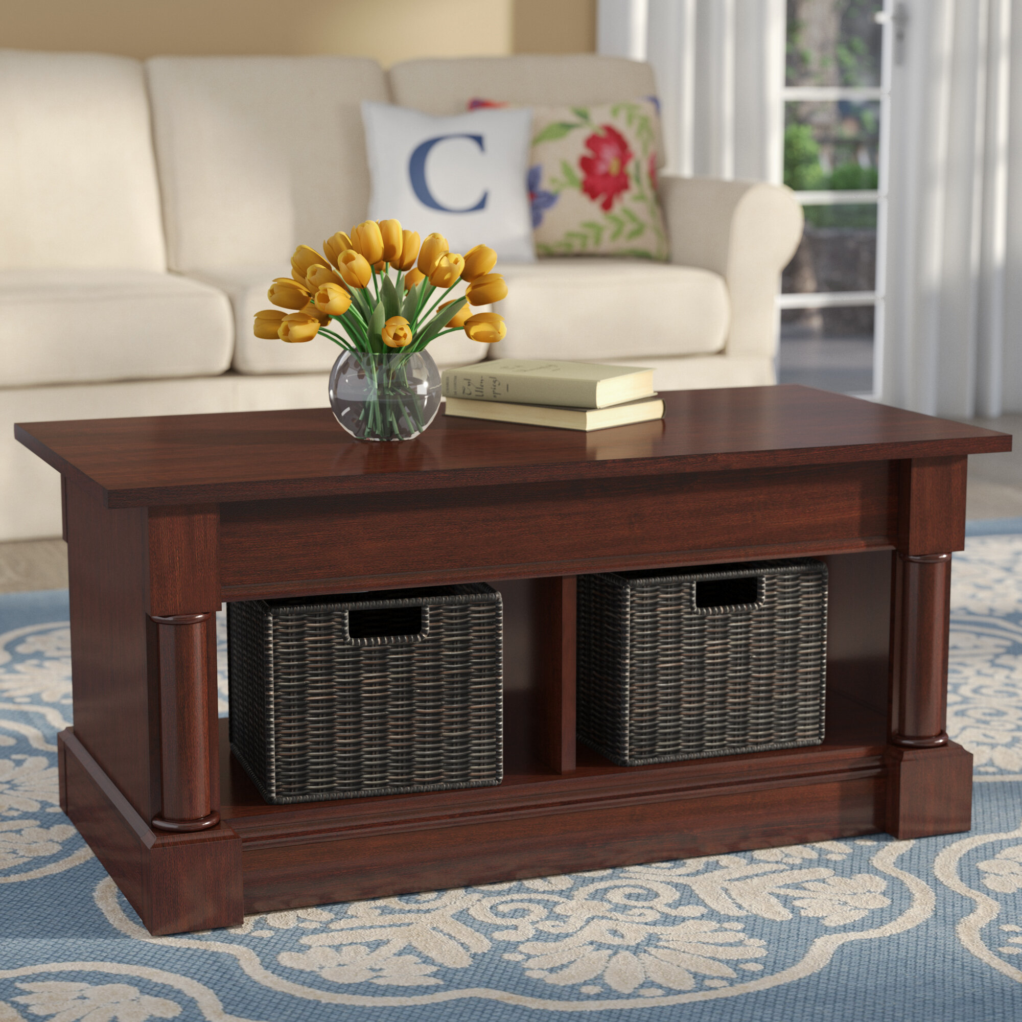 Three Posts Henley Lift Top Coffee Table & Reviews