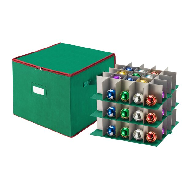 Christmas Ornament Storage Chest by Tiny Tim Totes