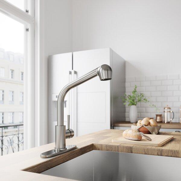 Avondale Pull Out Single Handle Kitchen Faucet by VIGO