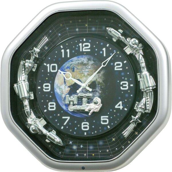 Galaxy Wall Clock by Rhythm U.S.A Inc