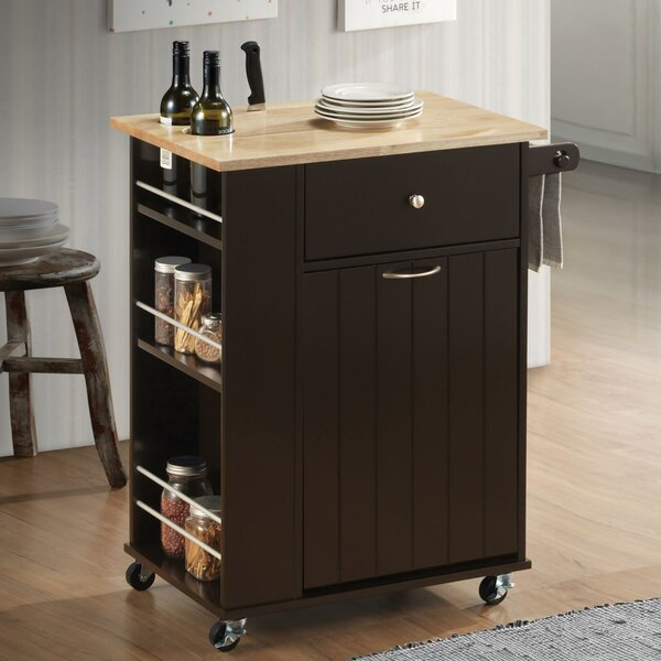 Modern Soderquist Kitchen Cart By Canora Grey Read Reviews