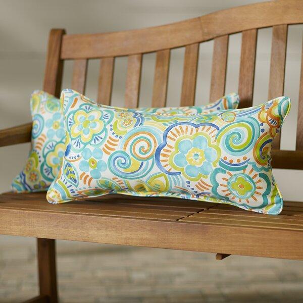 Odacia Indoor/Outdoor Lumbar Pillow Set (Set of 2) by Red Barrel Studio