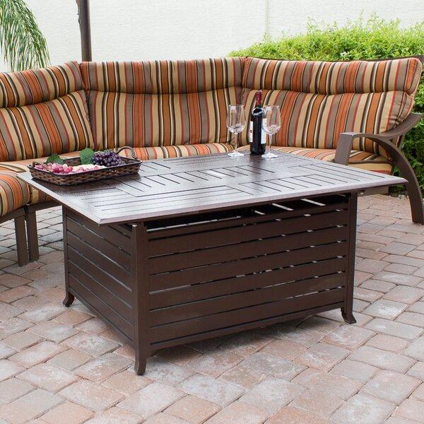 Aluminum Propane Fire Pit Table by AZ Patio Heaters