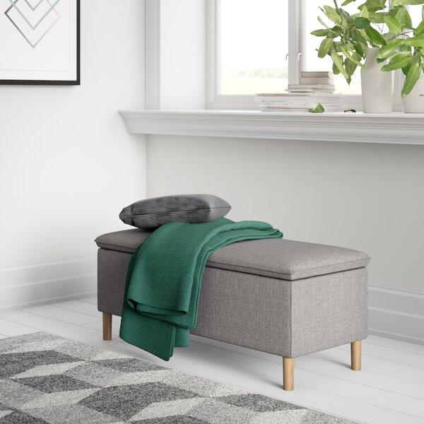 Burley Upholstered Bench by Zipcode Design