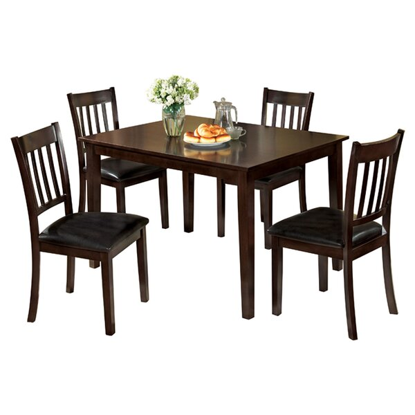 Clarks 5 Piece Dining Set by Hokku Designs