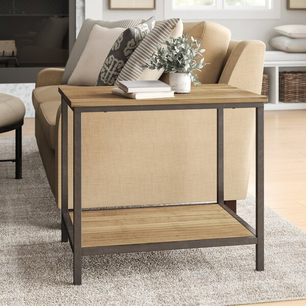 Cadence End Table  With Storage By Laurel Foundry Modern Farmhouse