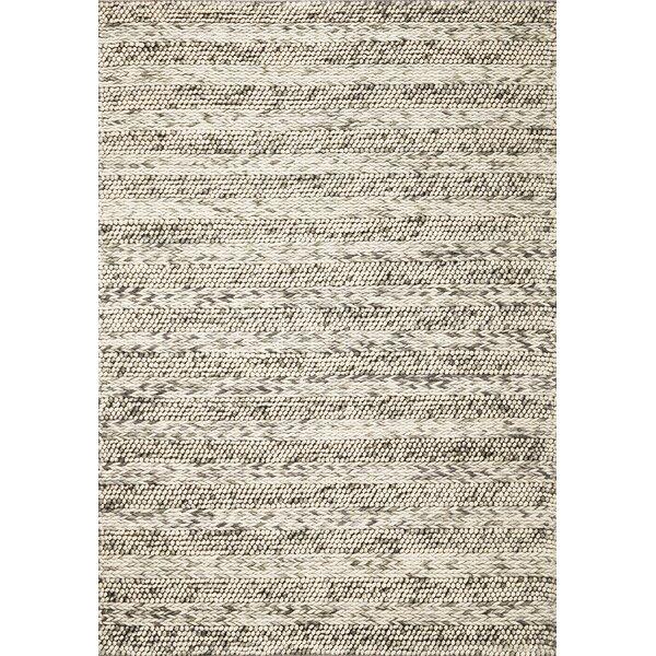 Sherwood Hand-Tufted Wool Gray Sherwood Area Rug by Corrigan Studio