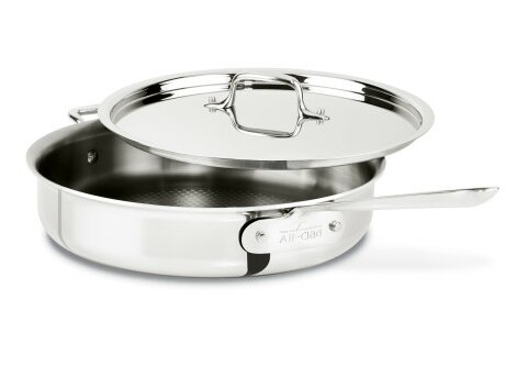 D3 3-qt. Armor Saute Pan with Lid by All-Clad