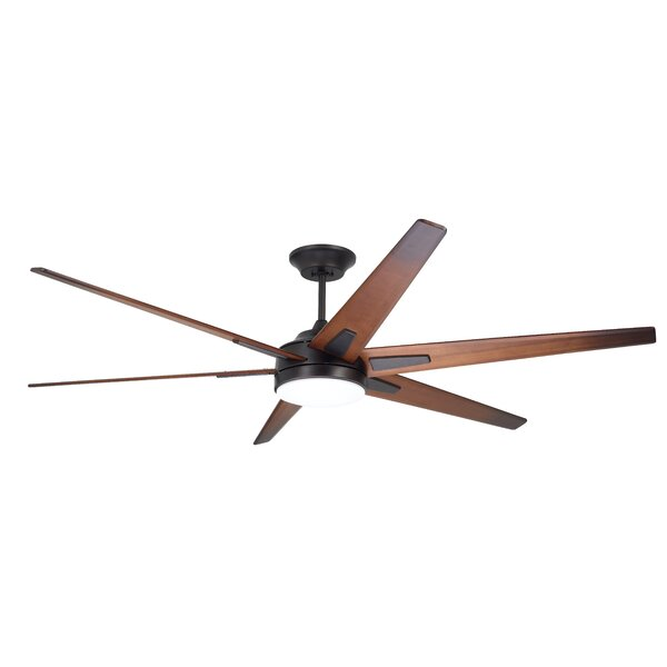 72 Durst 6 Blade LED Ceiling Fan by 17 Stories