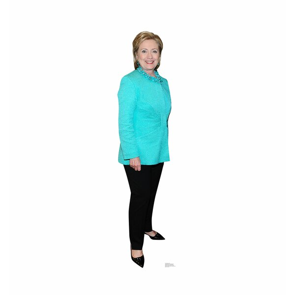 Hilary Clinton Life Size Cardboard Cutout by Advanced Graphics