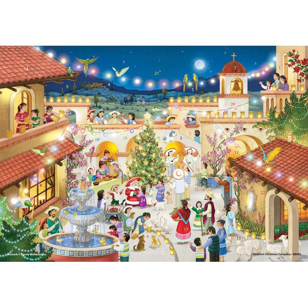 Feliz Navidad Advent Calendar by The Holiday Aisle