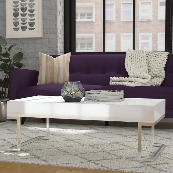 Zosimos Modern Coffee Table by Mercury Row