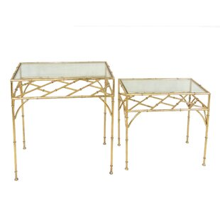Compare prices 2 Piece Nesting Tables BySagebrook Home