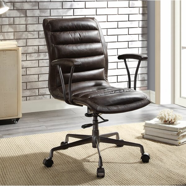 Piers Executive Office Chair by 17 Stories