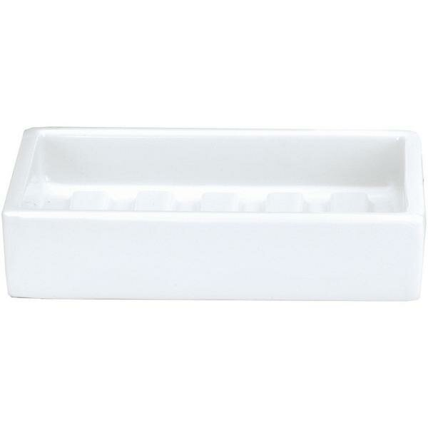Housel Countertop Porcelain Soap Dish by Charlton Home