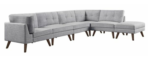 Rylan Modular Sectional With Ottoman by Langley Street