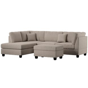Bibler Sectional with Ottoman