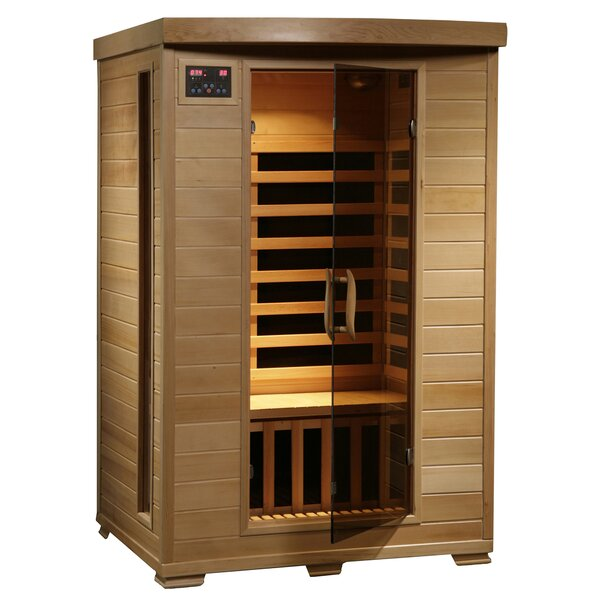 Modular Baltic Leisure 2 Person FAR Infrared Sauna by Radiant Saunas