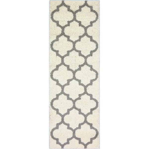 Herron Cream Area Rug by Charlton Home