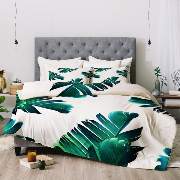 83 Oranges Banana Leaf Crush Comforter by East Urban Home
