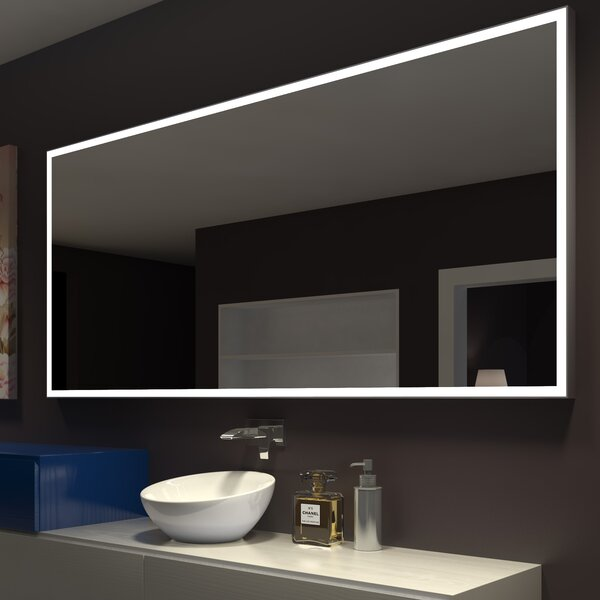 Kristian Illuminated Bathroom / Vanity Wall Mirror