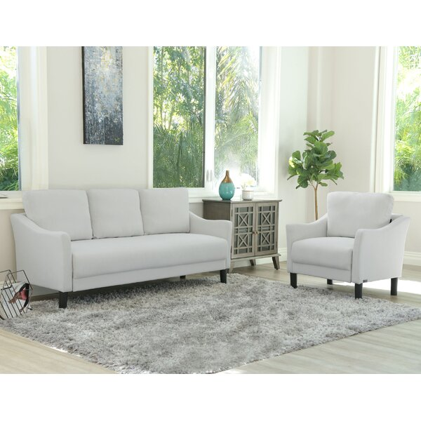 Buckwalter 2 Piece Living Room Set by Charlton Home
