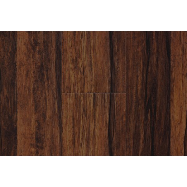 Islands 6.5 x 48 x 12mm Teak Laminate Flooring in Bali by Bellami
