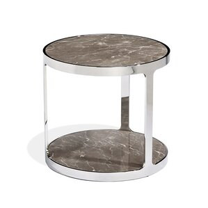 Soto Round End Table by Interlude