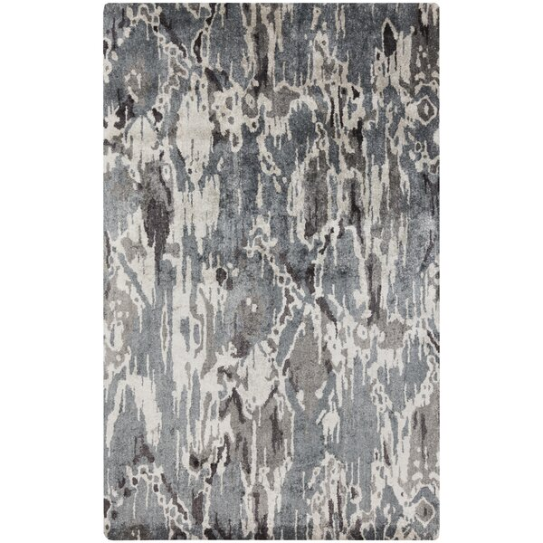Harbor View Black/Gray Area Rug by Ivy Bronx