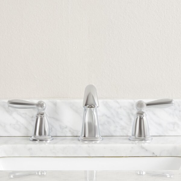 Brantford Widespread Bathroom Faucet with Optional Pop-Up Drain Assembly by Moen