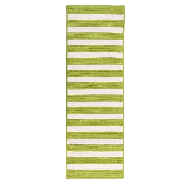 Cosey Braided Green/White Rug