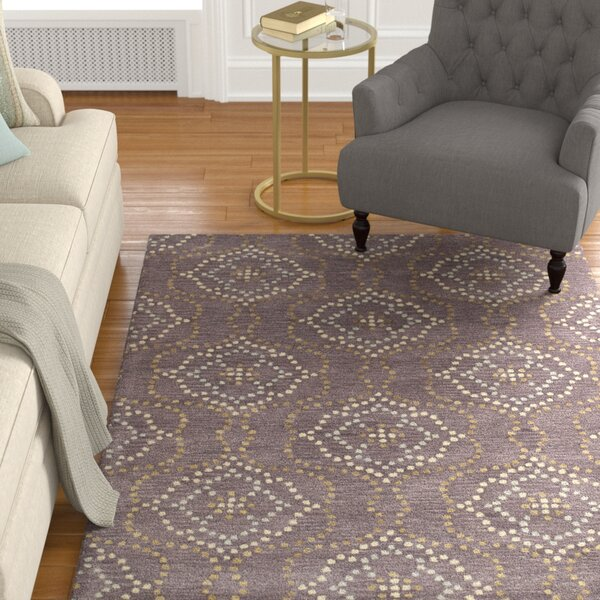 Bergland Hand Tufted Brown/Beige Area Rug by Alcott Hill
