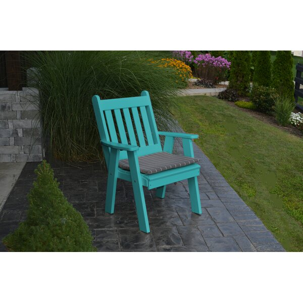 Kaylin Traditional English Patio Chair by Bay Isle Home