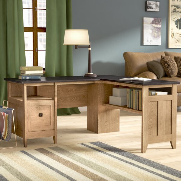 Mirabel L-Shape Executive Desk by Three Posts