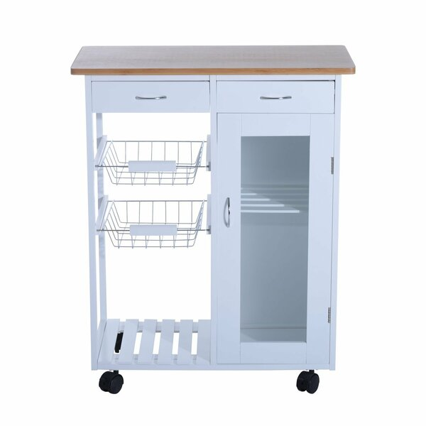 Etheridge Organizer Appliance Kitchen Cart by Winston Porter