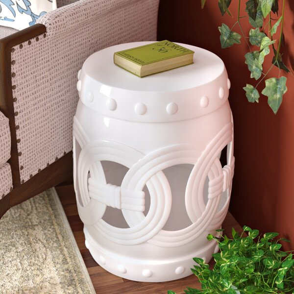 Kilpatrick Feng Shui Ceramic Garden Stool by Charlton Home