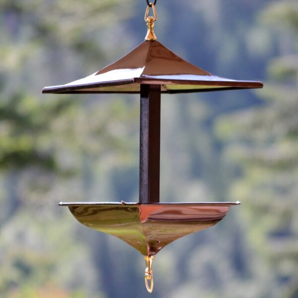 Napa Tray Bird Feeder by H. Potter
