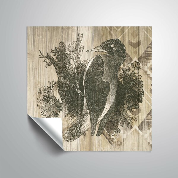 Natural History Lodge VI Wall Decal by World Menagerie