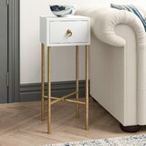 Tammy 1 Drawer End Table with Storage by Willa Arlo Interiors