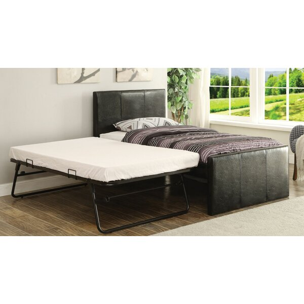 Pascarella Twin Bed with Trundle by Ebern Designs