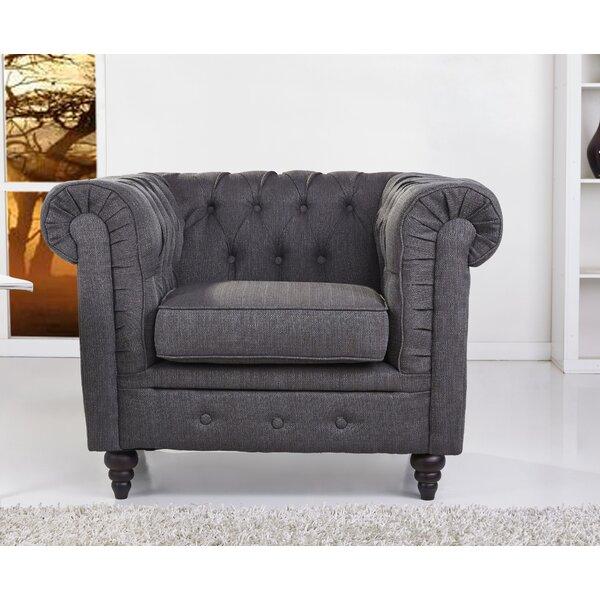 Arlington Chesterfield Chair by Gold Sparrow